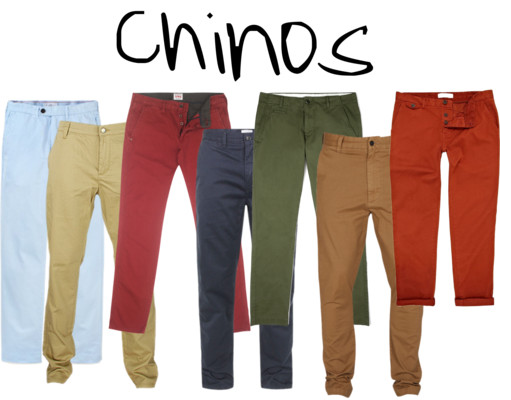 How to Wear Chinos Men