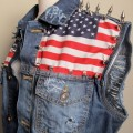 american flag vest