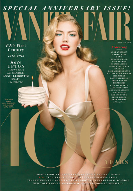 Vanity Fair October 2013 Kate Upton cover 460w