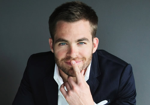 Chris pine sexy for