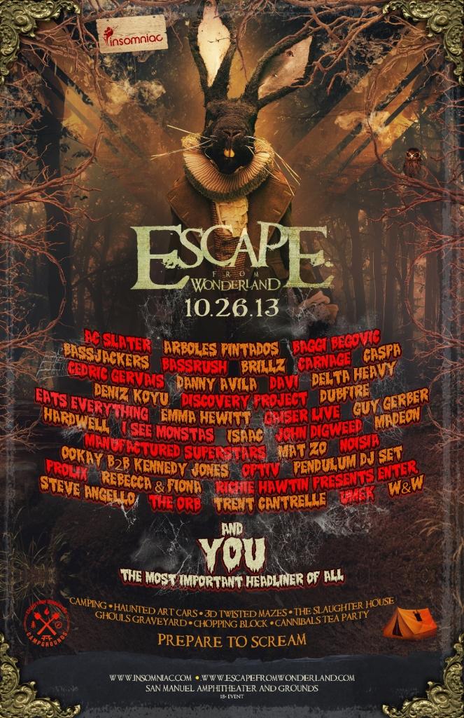 escape from wonderland halloween 2013_raannt