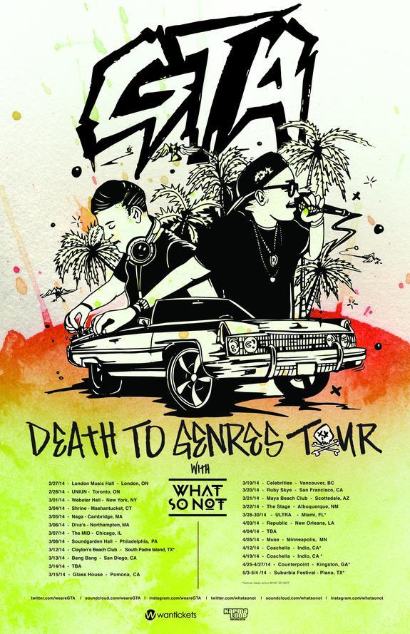 Gta tour dates in Perth