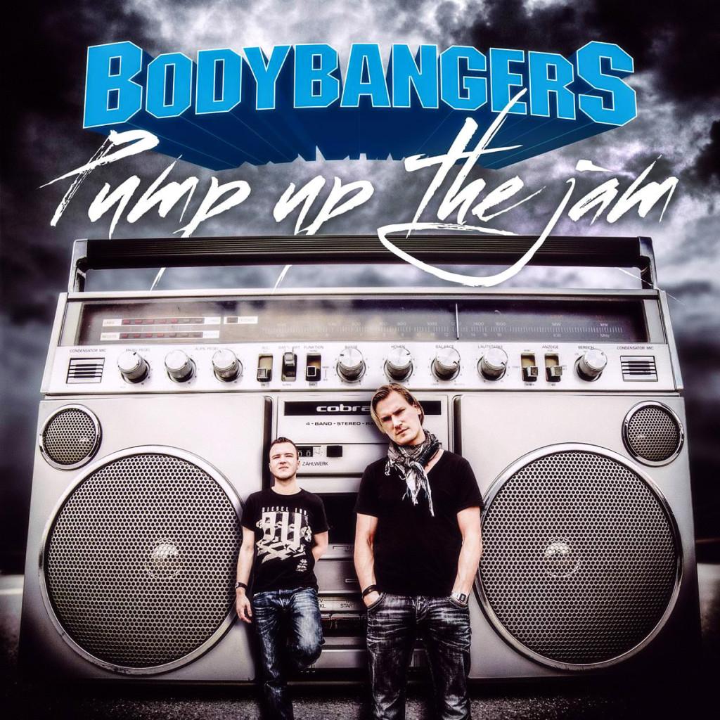 bodybangers pump up the jam official album cover_raannt