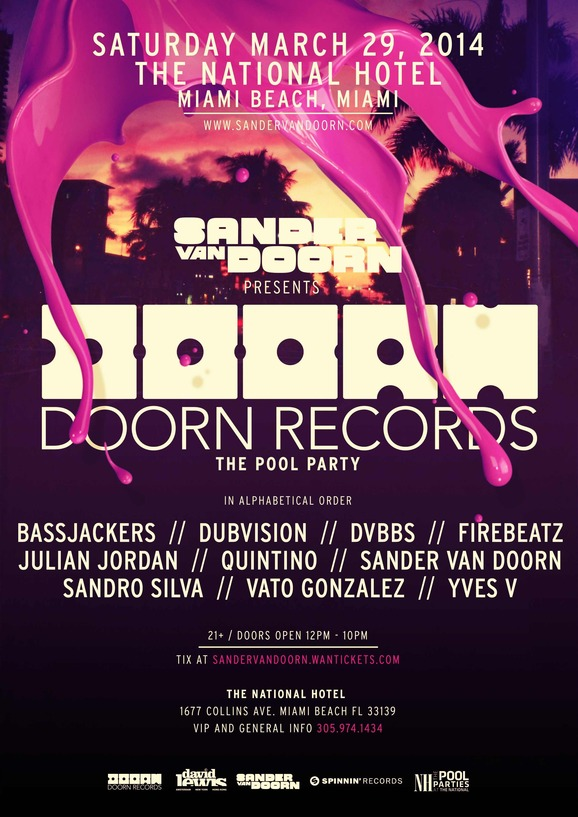 sander van doorn pool party ultra_raannt