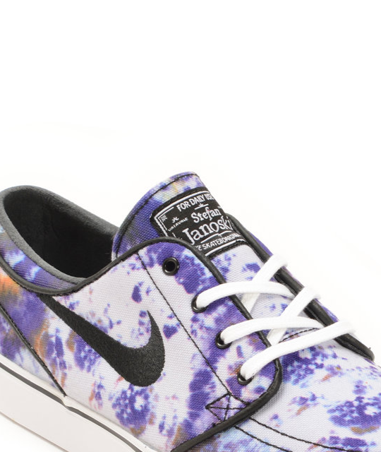 New Wmns Nike Roshe Two Print 2 Tie-Dye Grey White Womens Running Shoes 844933-001