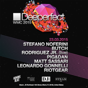 Deeperfect WMC 2015 at STEAM Miami