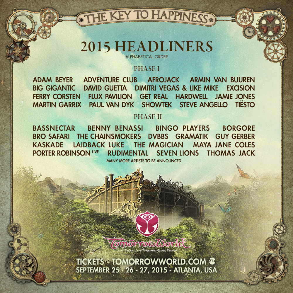 TomorrowWorld 2015 Tickets: www.TomorrowWorld.com