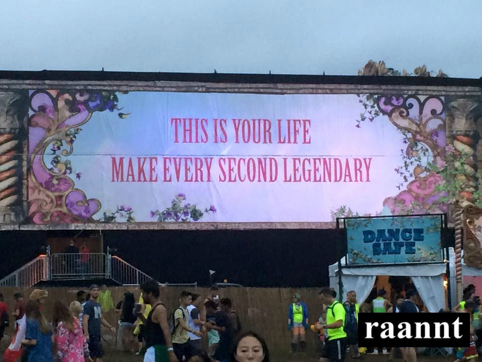 This is your life, make every second legendary!
