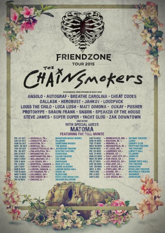 The Chainsmokers Friendzone Tour