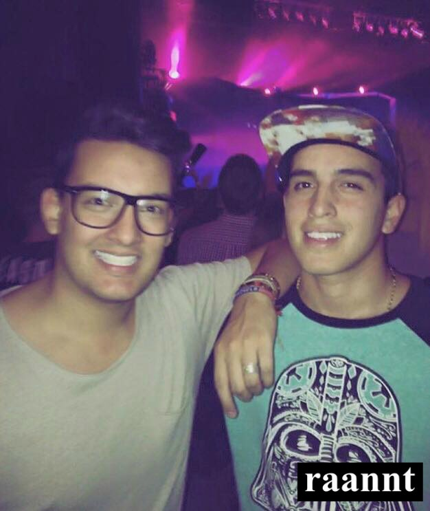 Alex Paredes & Juan Carlos Paredes at The Chainsmokers - Friendzone tour