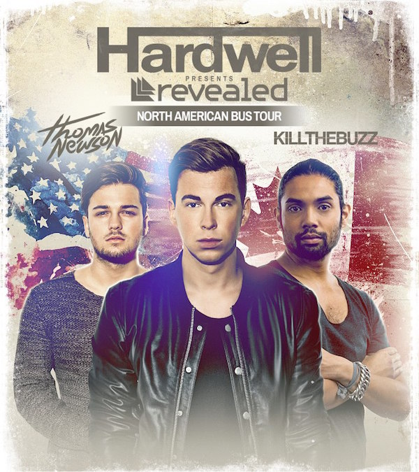 Hardwell Presents North American Bus Tour Featuring Kill the Buzz and Thomas Newson‏