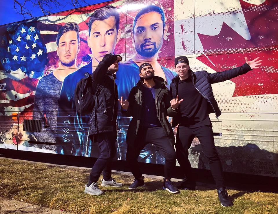 Kill The Buzz with Thomas Newson & Hardwell Revealed North America Bus Tour