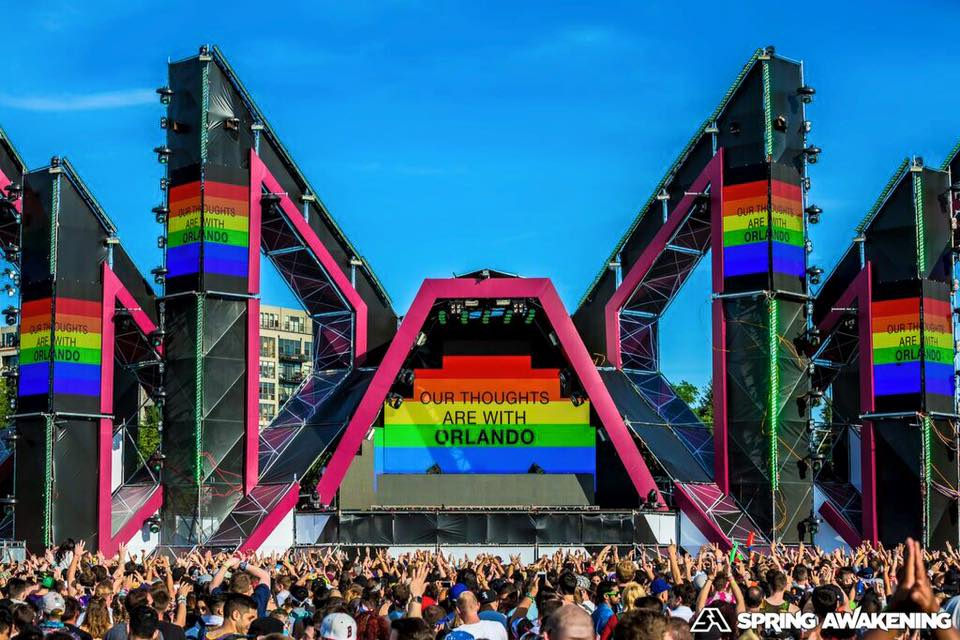 SAMF Tributes The Orlando Victims