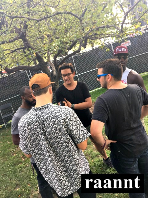 Back Stage Interview at North Coast Music Festival