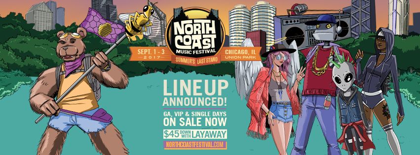 North Coast Music Festival 2017 Lineup | Single Day, 3-Day ...
