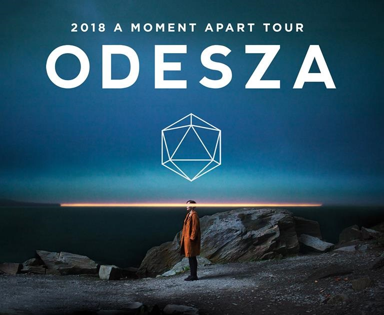 ODESZA A moment A Part 2018 Tour Indianapolis April 28th at White River Park Downtown Indy
