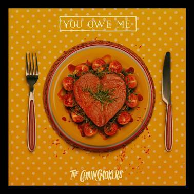 """You Owe Me"" follows the release of The Chainsmokers' recent track ""Sick Boy,"" whose video has accumulated over 70 Million views. Last week, the duo released a new remix bundle for the song, which is available now HERE. The package features new versions from up-and-coming producers Zaxx, Prismo, Owen Norton, Kuur, Trobi, and neutral."
