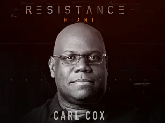 Carl Cox will be Celebrating the 20th Anniversary of Ultra Music Festival in Miami 2018.