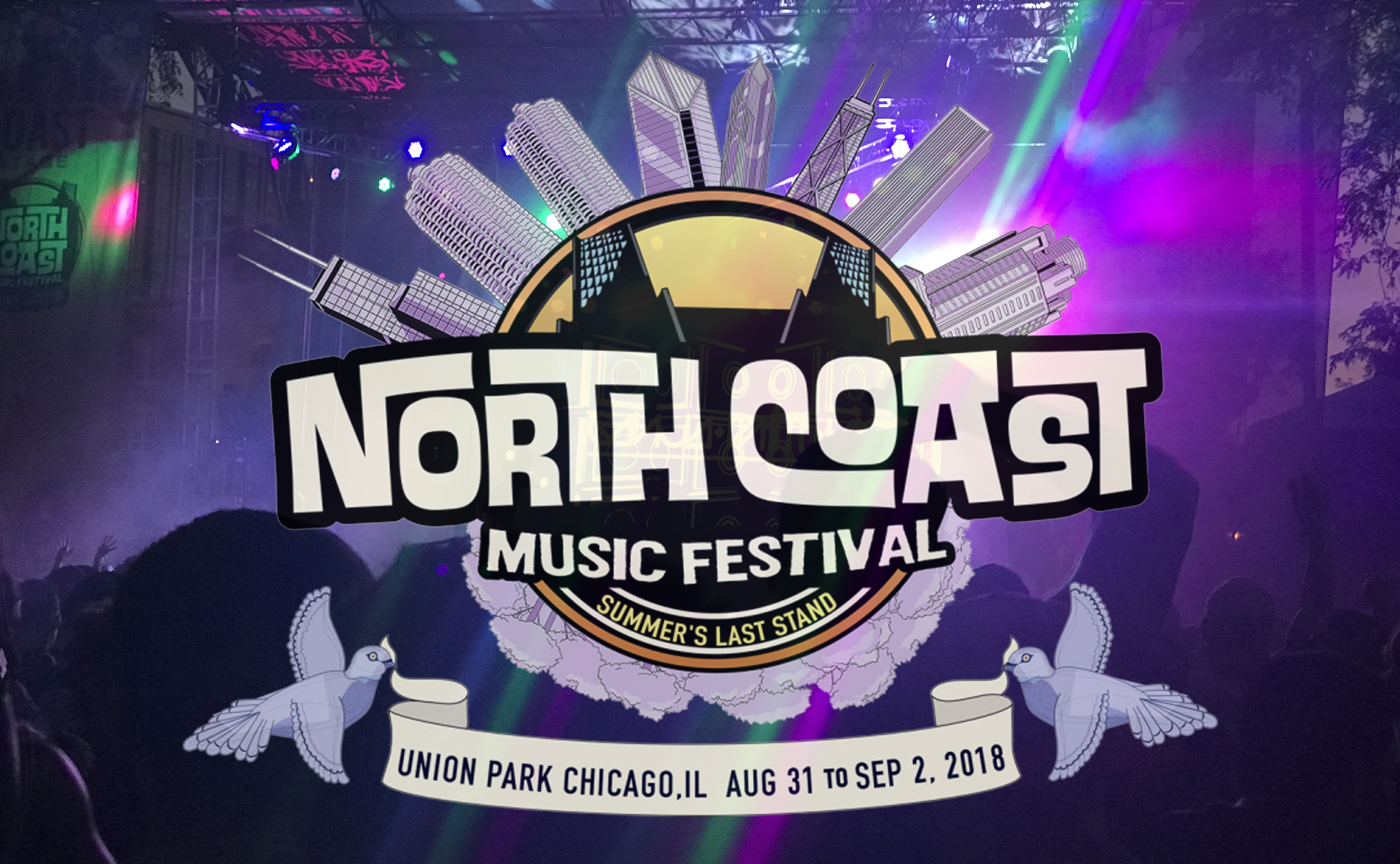 NORTH COAS MUSIC FESTIVAL LINEUP AND SET TIMES