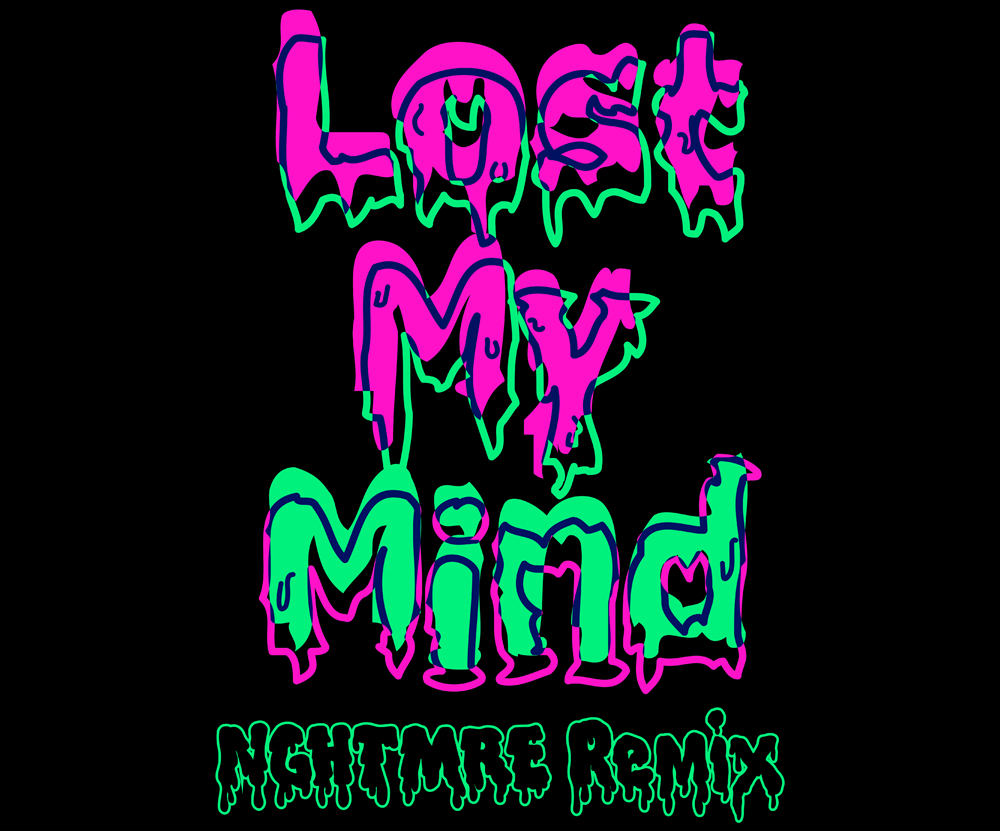 Dillon Francis and Alison Wonderland's ethereal banger 'Lost My Mind' released earlier this year gets a bass driven remix by festival mainstay, NGHTMRE. This epic trifecta brings together some of the electronic scene's most formidable artists, resulting in a hype tune guaranteed to be blasting through your speakers for the rest of the summer.