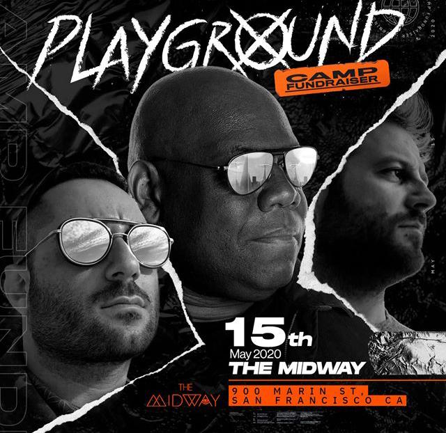Playground Camp Fundraiser w/ Carl Cox, Joseph Capriati, & Enrico Sangiuliano