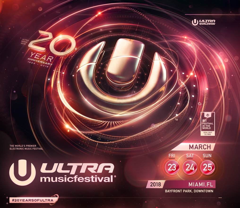 ULTRA MUSIC FESTIVAL began as a 10,000-person beach party in 1999 and has since grown to a 165,000-person mega-festival, surrounded by skyscrapers in the heart of Downtown Miami. The legendary Josh Wink and Rabbit In The Moon were both part of the very first Ultra Music Festival at Collins Park, Miami Beach in 1999 and will return in March 2018. With thirty headliners and over forty additional support acts making up Phase One, the twentieth anniversary is shaping up to be a truly historic event. ULTRA MUSIC FESTIVAL is an 18+ event. For tickets and more information, head to ultramusicfestival.com