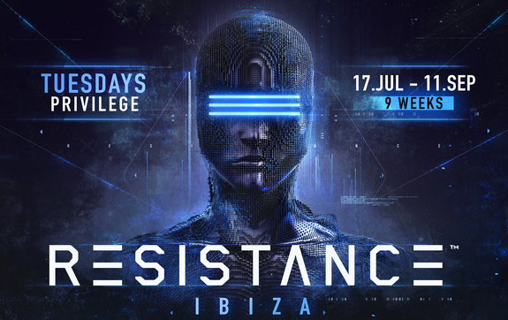RESISTANCE Ibiza's 'wildly impressive debut' [Pulse Radio] was felt around the world in 2017, as critics lauded the 'truly immersive experience' [Deep House Amsterdam] for the festival-esque 'mind-boggling custom production and phenomenal sound' [Ibiza Spotlight] brought to the gargantuan venue. Returning this year every Tuesday for a full 9 weeks from 17 July – 11 September, the concept is bound to make even bigger waves this season. Ticket registration is now open exclusively at resistanceibiza.com RESISTANCE Ibiza 17th July - 11th September Tuesdays | Privilege