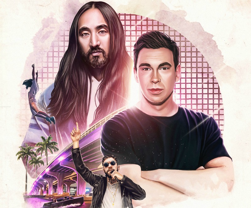 """My fans know that I love to deliver the biggest tracks in my sets and definitely from my studio,"" says Hardwell on the collaboration. ""I am always working to bring that anthemic vibe with my music. So what better DJ to pair up with in the studio than Steve to create a dancefloor banger that is every inch the 'Anthem' it says on the tin!"" ""Hardwell and I named this song 'Anthem,'"" states Aoki. ""We came together with the intention of creating a worldwide anthem, a record for all our fans around the world."""